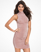 NLY One Turtle Neck Ruched Dress
