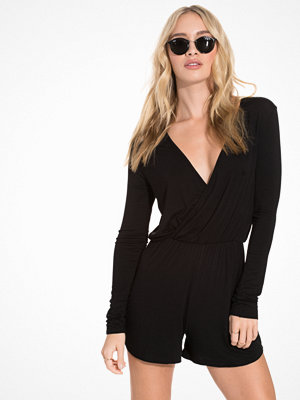 Jumpsuits & playsuits - NLY Trend Summer Playsuit Svart