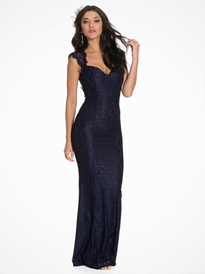 NLY Eve Mermaid Lace Gown Navy