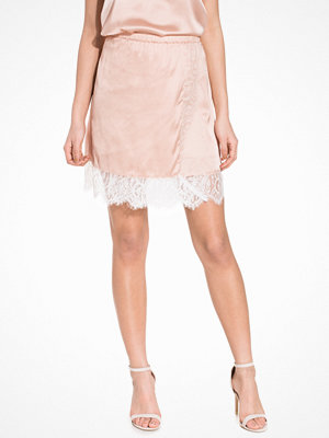 NLY Trend Into The Spotlight Skirt Ljus Rosa
