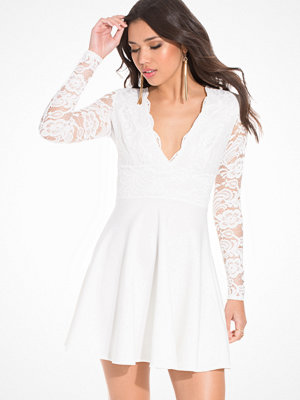 NLY One Lace Top Skater Dress