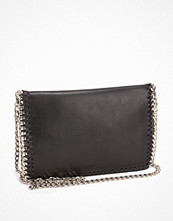 NLY Accessories Crossover Chain Bag Svart/Silver axelväska