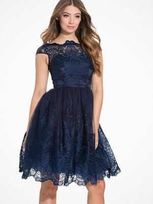 Chi Chi London April Dress Navy