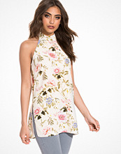 Miss Selfridge Blossom High Neck Tunic