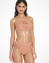 Minkpink Daphne Crochet High Bikini Bottom