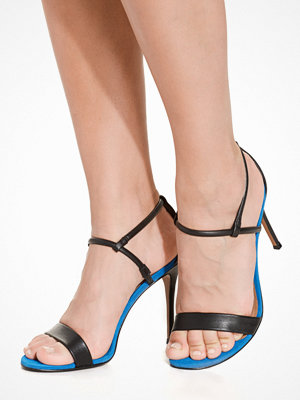 Topshop Soft 2 Part Sandal Black