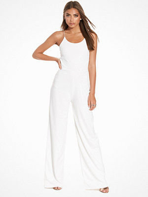 NLY Trend Strappy Jumpsuit Vit