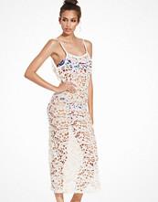 Hot Anatomy Long Crochet Beach Dress
