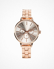 Klockor - New Look Rose Gold Sports Watch