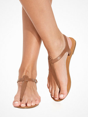 NLY Shoes Simple Sandal Brun