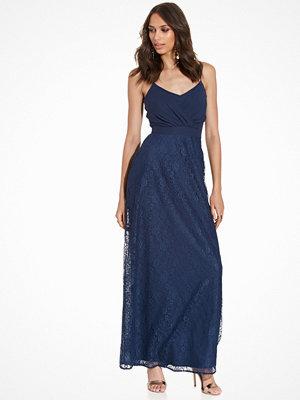 Elise Ryan Maxi Strappy Dress Navy