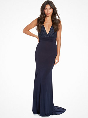 TFNC Centurion Maxi Dress Navy