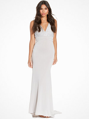 TFNC Centurion Maxi Dress Grey