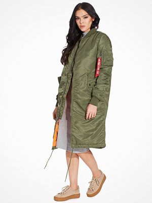 Alpha Industries omönstrad bomberjacka MA-1 Coat Wmn Green