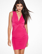 Club L Sleeveless Slinky Knot Detail Bodycon Dress