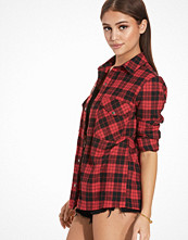 NLY Trend Flannel Short Shirt