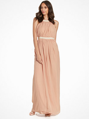NLY Eve Pearl Chiffon Gown Rosa