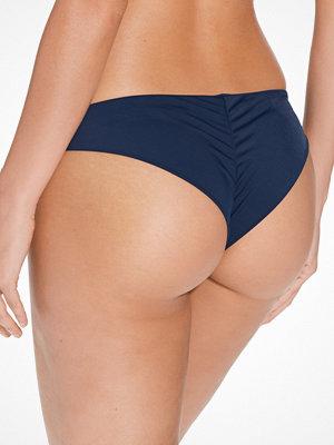 NLY Beach Brazilian Bikini Panty Mörk Blå