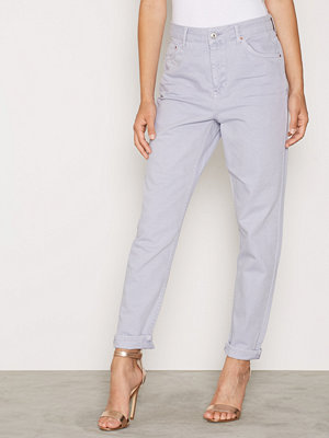 Topshop Moto Lilac Coloured Mom Jeans