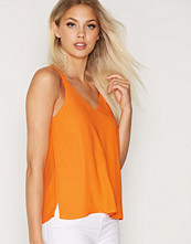 Topshop Double Strap V-Front Top