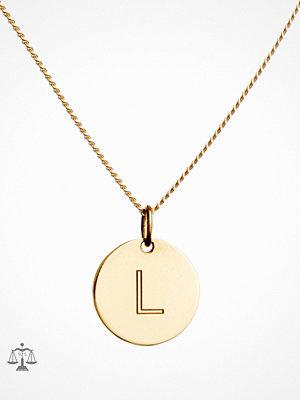 Blue Billie smycke Letter Pendant L