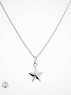 Blue Billie smycke Star Charm Silver