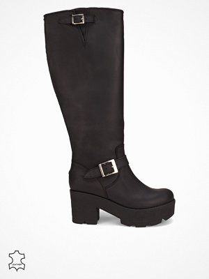 Johnny Bulls Platform High Boot Svart