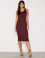 NLY One Square Neck Midi Dress