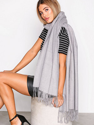 NLY Accessories Classy Solid Scarf Grå