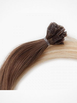 Hårprodukter - Rapunzel Of Sweden Nail Hair Original Rakt Ombre 50cm Medium Ash