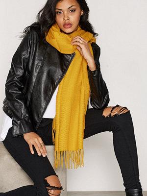 Halsdukar & scarves - Pieces Pckial Long Scarf Noos Ljus Brun