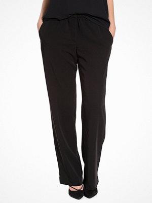 Samsøe & Samsøe svarta byxor Hoys Straight Pants Black