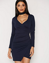 NLY One Long Sleeve Wrap Bodycon