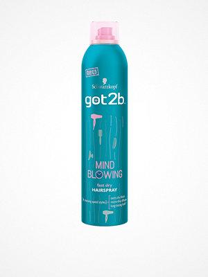 Hårprodukter - Schwarzkopf Mind Blowing Hairspray 300 ml Transparent