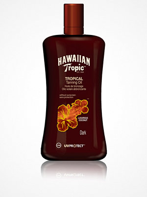 Solning - Hawaiian Tropic Tropical Tanning Oil Dark 200 ml Transparent