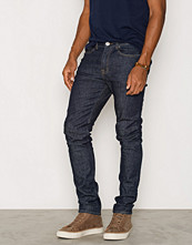 Jeans - New Look Navy Rinse Washed Skinny Jeans