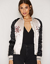 Topshop Badged Casual Jacket