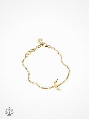 Blue Billie armband Moon Bracelet Gold Guld