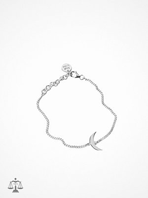 Blue Billie armband Moon Bracelet Silver Silver