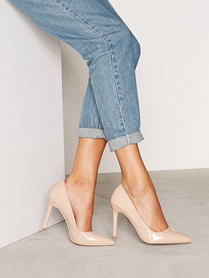 Pumps & klackskor - NLY Shoes Slim Pump Beige