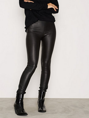 By Malene Birger svarta byxor Elenasoo Leather Pants