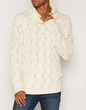 Tröjor & cardigans - NLY MAN Cable Polo Neck Sweater