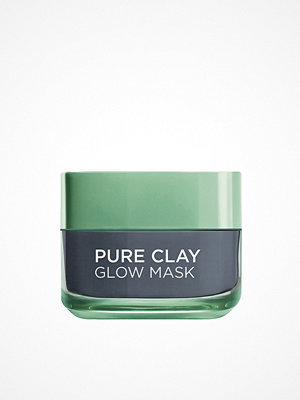 Ansikte - L'Oréal Paris Pure Clay GLOW Mask Grå