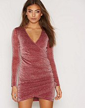 NLY Trend Glitter Wrapped Dress