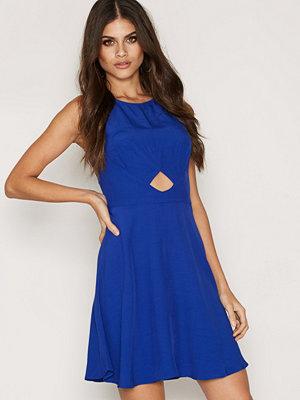 Miss Selfridge Blue Skater Dress Blue
