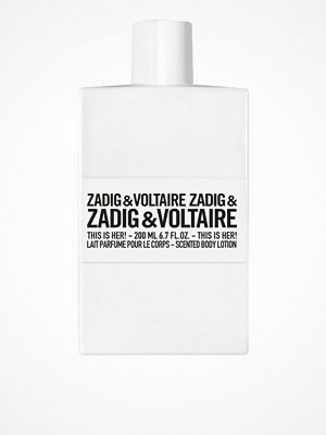 Parfym - Zadig & Voltaire This Is Her Body Lotion 200ml