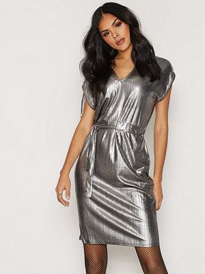 Cheap Monday Capsule Lurex Dress Silver