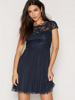 Vila Viulricana Short Dress/1 Blå