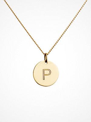 Blue Billie smycke Letter Pendant P