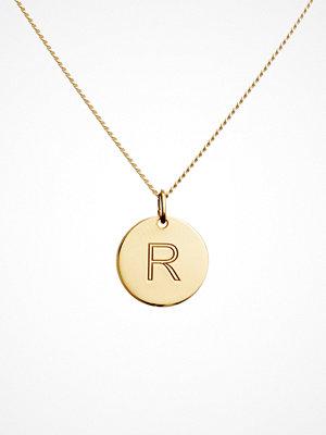 Blue Billie smycke Letter Pendant R